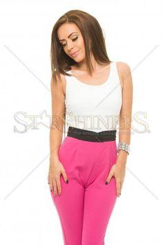 Colectia Salopete femei 2015 ! - Magazin Universal Capri Pants, Fashion, Moda, Capri Trousers, Fashion Styles, Fashion Illustrations