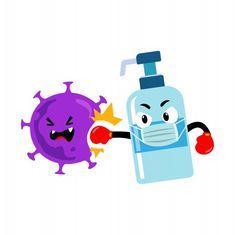 Hand sanitizer mascot character against coronavirus , Hand Washing Poster, Afrique Art, Cartoon Clip, Pre School, Hand Sanitizer, Preschool Activities, Cute Drawings, Art For Kids, Doodles