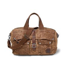 Polo Ralph Lauren Waxed Canvas Duffel Bag (21.805 RUB) ❤ liked on Polyvore featuring men's fashion, men's bags, men's duffel bags and ralph lauren mens bags