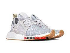 Outlet Adidas Nmd Pk Runner Hommes Noir Gris, Délicates
