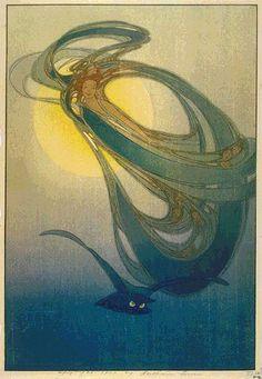 Mother West Wind  by Bertha Lum, 1918