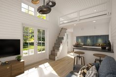 Camilla, Compact Living, Swedish House, Attic Rooms, Old Houses, Tiny House, Beach House, Minimalism, House Ideas