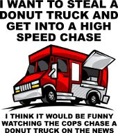 Cops And Donuts Funny T-Shirts