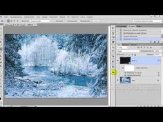 PhotoshopSunduchok - Как наложить в фотошопе снег на фото