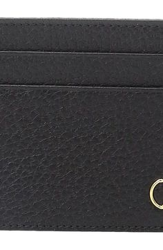 Z Zegna Grained Calfskin Card Case (Black) Credit card Wallet - Z Zegna, Grained Calfskin Card Case, E1179Z-BOA-NER, Bags and Luggage Small Goods Credit card, Credit card, Small Goods, Bags and Luggage, Gift - Outfit Ideas And Street Style 2017