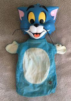 1965 Tom & Jerry Pull String Talker Puppet by Mattel No Talk Box  | eBay