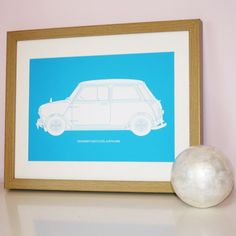 Personalised Retro Car Print