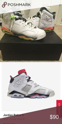 uk availability 5a9e0 3f913 Jordan Retro 6 White Ghst Green-Hst-Brght Mng Lime green, orange