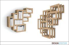 Interesting take on shelves