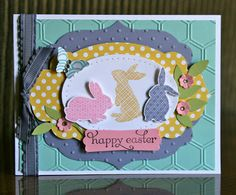 Stampin' Up! Easter  by Krystal D at Krystal's Cards and More: Ears To You