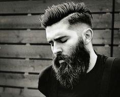 Low Fade Long Beard