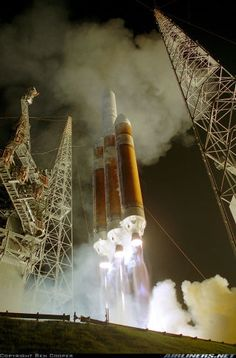 Photographer Ben Cooper took this photo of a Delta 4-Heavy rocket launching at Cape Canaveral using a sound-activated camera. And when your camera is that close to a launch, your lens probably won't survive.