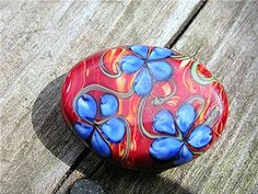 Jls: Twistie of blues makes petals - -  Just Focals: Show and Tell - WetCanvas