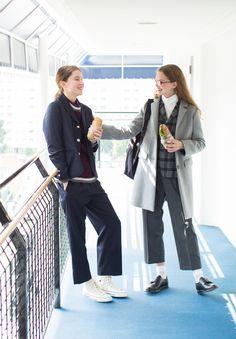 STYLE NO.3 | HOLIDAY GIRLS with BEAMS × FUDGE