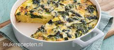 Delicious pumpkin, ricotta and spinach frittata Spinach Frittata, Cheese Quiche, Spinach And Cheese, French Quiche Recipe, Tortillas, Tapas, Easy French Recipes, Vegan Fish, Hispanic Kitchen