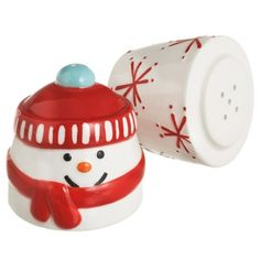 Stacking snowman salt and pepper shaker Designed for Midwest CBK