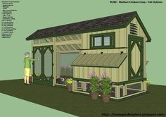 home garden plans: News: M200 - Perfect Options - Backyard Chicken Coop Plans - Free Chicken Coop Plans - How to build a chicken coop