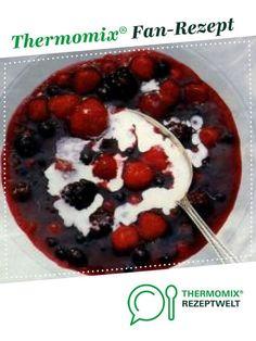 Rote Grütze - sensationell lecker von lobibi. Ein Thermomix ® Rezept aus der Kategorie Desserts auf www.rezeptwelt.de, der Thermomix ® Community.
