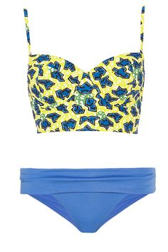 10 Ways To Mix  Match Your Swimsuits #refinery29  http://www.refinery29.com/bikinis#slide1