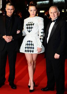 Adele Exarchopoulos in Balmain at Cannes Film Festival