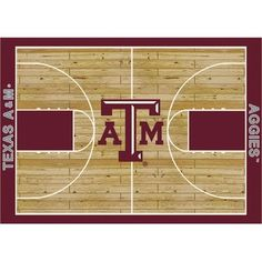 "College Court Texas A & M Aggies Rug Size: 10' 9""x13' 2"" $718.80"