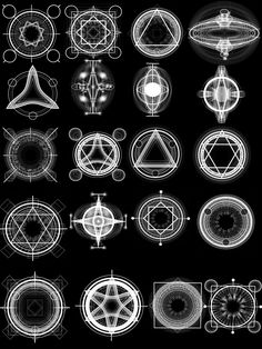 EXCLUSIVE alchemy and arcane circles -brushes for photoshop CS and up
