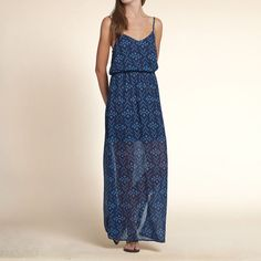 Girls San Elijo Chiffon Maxi Dress | Hollister