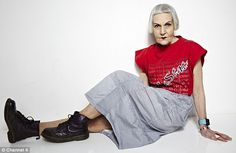 Glamorous granny: Jean Woods, 75, reinvented herself as a fashionista after being widowed at 70