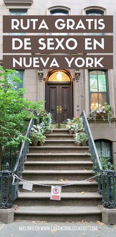 [MAPA Y RUTA] Todos los lugares de rodaje de Sexo en Nueva York. #NuevaYork #NYC #Manhattan #NuevaYorkTurismo