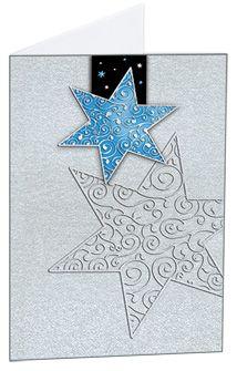#Weihnachtskarte mit hohem Aufmerksamkeitswert vom Litei Verlag
