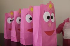 Foofa party bags