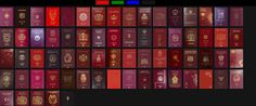 This Website Displays And Ranks The Passports Of The World - DesignTAXI.com