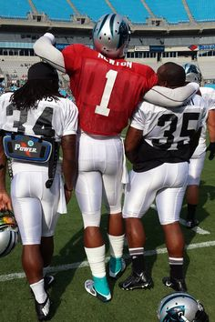 from Carolina Panthers Backfield Buddies. #TeamChemistry