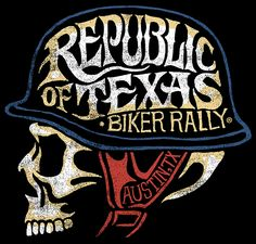 ROT Republic of Texas Biker Rally 2014 by Max Merlos, via Behance