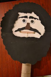 Bible Class Creations: Paper Plate Puppet with Moveable Mouth