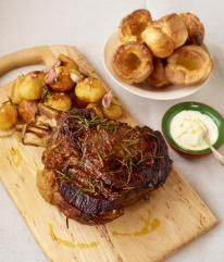 Jamie Oliver's Rib Roast to die for...