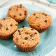 Almond Flour Muffins with Chocolate Chips