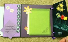 #Homemade Birthday Card for Her - Inside