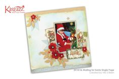 2H1814s Waiting for Santa Single Page