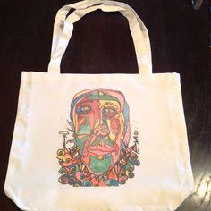 New! Ruffle Clown Tote Bag !