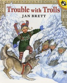 We kick off 2011 with Jan Brett for January.    I think her snowy stories are a perfect accompaniment to our wintery weather.  They're also structured nicely with a clear beginning, middle and end, making them well-suited for refining our retelling and sequencing skills.