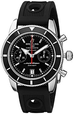 Breitling-Mens-A2337024-BB81RU-Analog-Display-Swiss-Automatic-Black-Watch #breitling #menswatch #mensstyle #mensfashion #breitlingwatches #watchesformen #fathersday #gifts #giftfordad