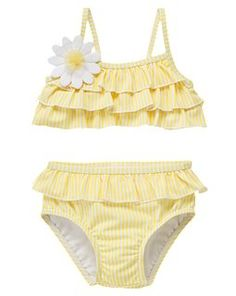 Not that she'd get to wear it up here but how adorable is this?! Yellow and Perfect! Hehe.