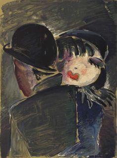 Werner Scholz Am Bulowbogen Um 1930 Farblithographie C Berlinische Galerie Landesmuseum Fur Moderne Kunst Fotografie Und A Moderne Kunst Kunst Realismus