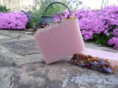 Lilac-scented handmade, cold-process soap from The Enchanted Bath in Wayne County, West Virginia. #handmade #soap #enchanted #westvirginia