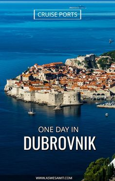 What to see if you have a day in Dubrovnik, Croatia. Find out  the best ideas for places to go and things to see in Dubrovnik, Croatia in one day. | As We Saw It #dubrovnik #croatia #travel #itineraries