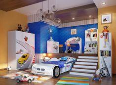 kinderzimmer junge mission mglich richten sie das zimmer ihres kindes so dass seine fantasie stimuliert wird finden sie die besten ideen mit uns - Luxus Hausrenovierung Fantastische Autobett Ideen Der Modernen Kinderzimmer Design