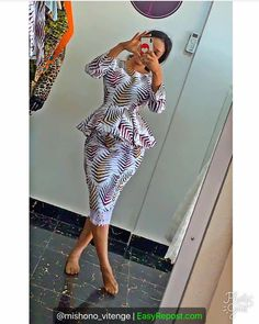 latest ankara short skirt and blouse styles check out styli… by Zahra Delong Diyanu – African Plus Size Clothing at D'IYANU African Wear Dresses, African Fashion Ankara, African Inspired Fashion, African Print Fashion, African Attire, African Clothes, Ankara Skirt And Blouse, Ankara Dress, Beautiful Ankara Styles