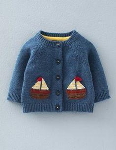 Crochet Boats Cardigan