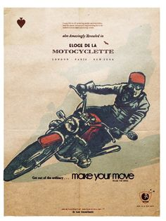 make your move (éloge de la motocyclette) PRAISE THE SPEED - CHAPTER 6 in CAFE…